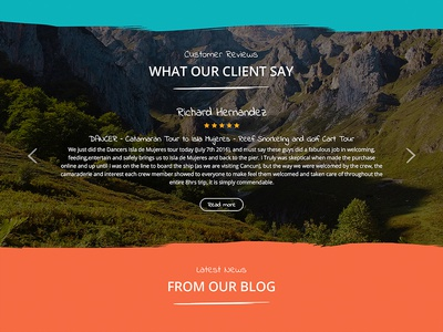 CanCun Vista design web expedition holiday tour adventure customer reviews testimonials shop store ecommerce