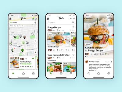 Taste Mobile App
