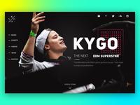 Kygo Websit