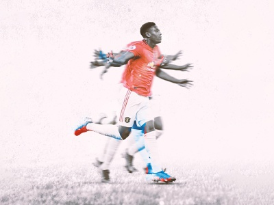 Anthony Martial photography visual art graphic design visual experiment after effect motion concept animation design