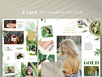Zara - instagram puzzle