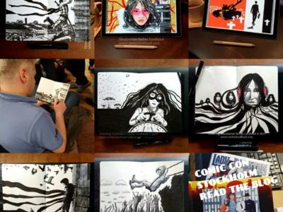 Revisit last years drawings illustration drawing illustrator