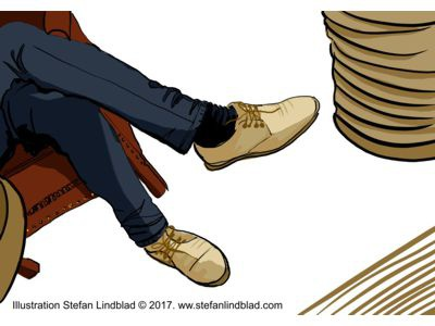 Illustration Shoes Of Joachime W. 2017