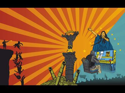 Illustration Ukraina 1 Dribble Stefan Lindblad Opus Magazine 201
