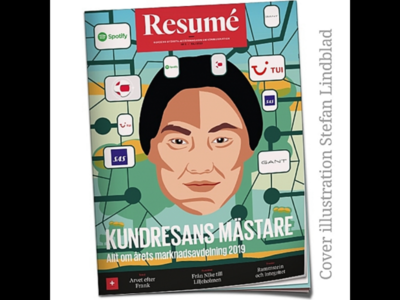 Magazine Cover Illustration stefan lindblad portrait coreldraw cover illustration vector