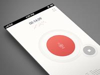 MONO recorder app (v.01)