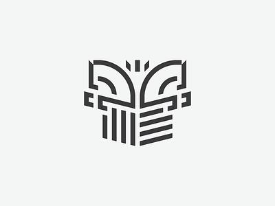 Equestrian Logo logo logotype heraldry horse equestrian shield symmetry stripes abstract branding