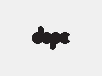 Dope dope logo logotype type typography electronic music branding