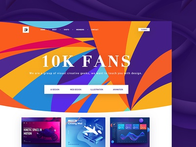 Sweat radesign rdd follower fans design web ux ui