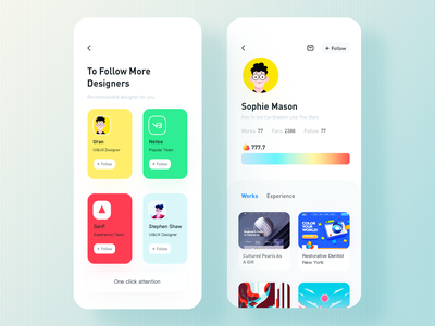 Recommend mobile app rdd radesign color ui design