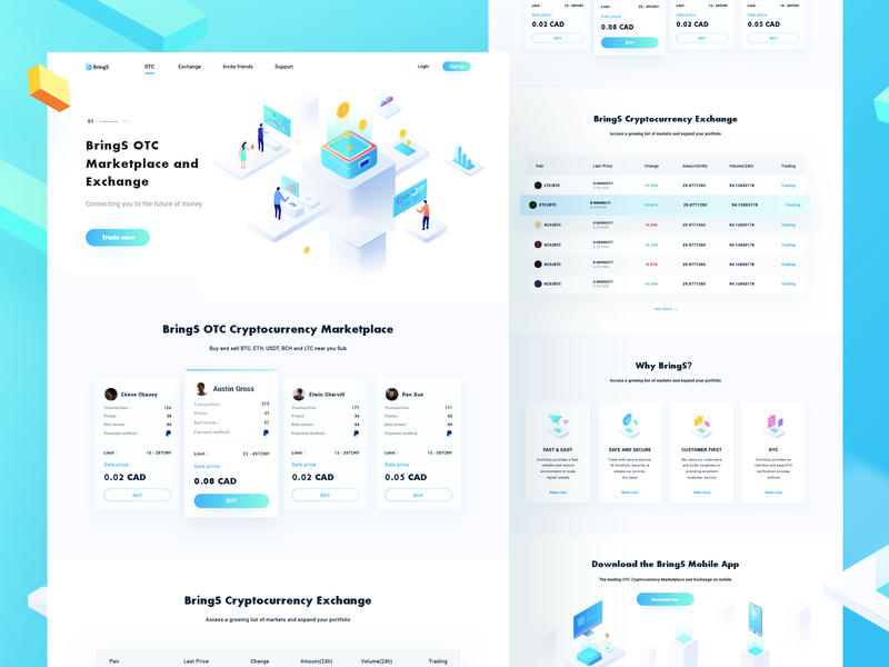 Page radesign rdd blue web ui design