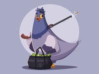 Pigeon a thief