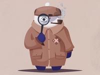 Sherlock Mascot