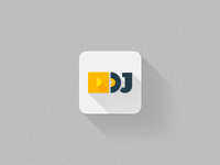DJ icon for iOS