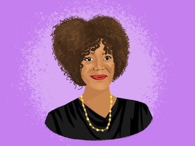 BHM Illustration #2: Ruby Bridges bhm illustration digital illustration portrait photoshop black history month