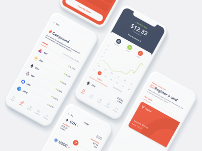 Digifox App Screens app ui design crypto design app ui app design crypto wallet crypto currency cryptocurrency crypto