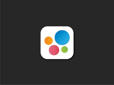 App Icon icon design app design circles orbs app icon icon app