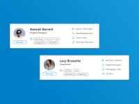 Ripple - Freelancer Profile Card