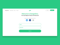 DesignDino - Sign Up Page