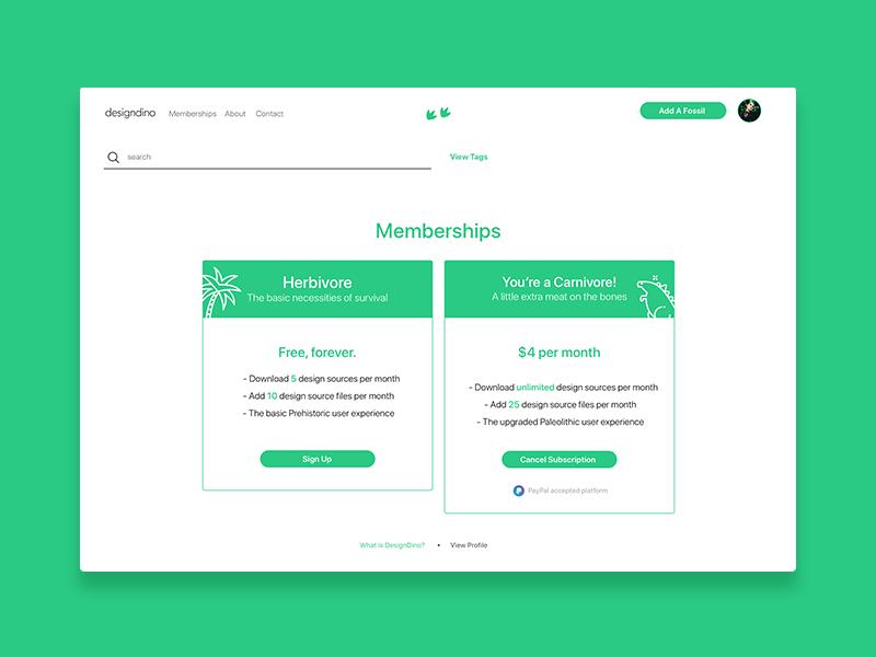 Membershipsdribble