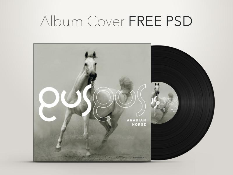 Album Cover Free Psd album cover free freebie psd vector music vinyl record