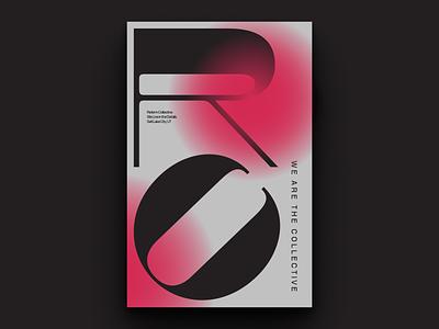 Reform Typographic Poster 1 graphic design reform collective pangrampangram mural branding poster graphic design typography type