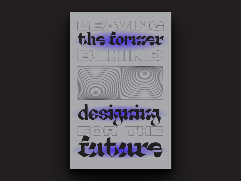 Reform Typographic Poster 4 agency collective reform type design mural typeface fonts future branding typographic poster typogaphy