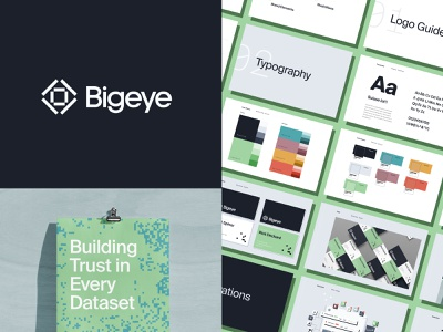 Bigeye Data Labs Rebrand Project branding rebrand mark eye bigeye suisse business cards brand guidelines brand guide logomark logotype dataset data logo design logo