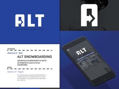 Alt Snowboarding Branding