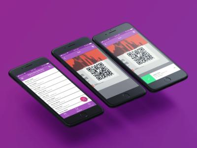 Event ticket app