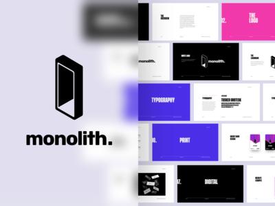 Monolith Logo Design & Branding