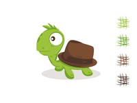 Turtle Hat illustration