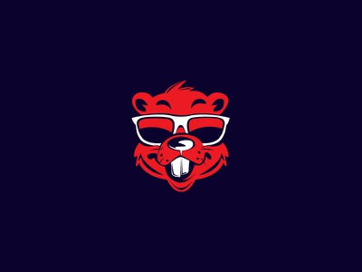 Beaver rat bear animal icon symbol identity branding identity logo beavers beaver