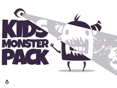 Kids monster pack