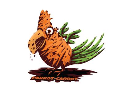 Parrot-carrot