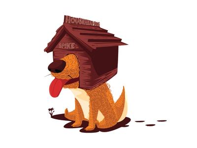 Househead dog