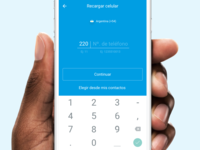 Mobile Recharge - Input View