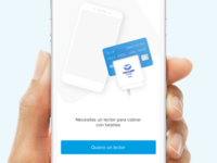 Another onboarding view - Illustration for a payment app