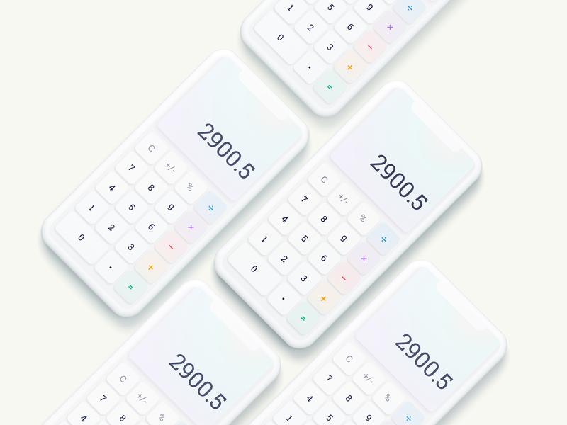 Calculator · Daily UI #004
