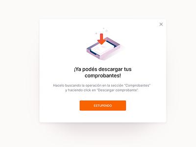 Descargar comprobantes dailyuichallenge download banking app banking mobile app ux illustration design system interface ui uidesign