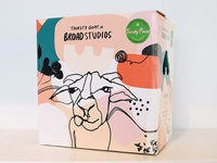 Thirsty Goat x Broad Studios Packaging