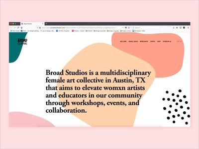 Broad Studios Website
