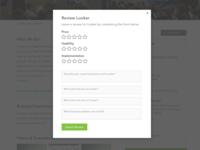 Startup Explorer Mockup (Leave a Review)