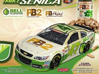 3D NASCAR Render For Bell Plantation