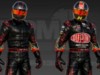 3D Jeff Gordon FireSuit