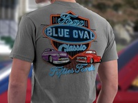 FOAC Blue Oval Classic Shirt Design