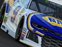 Realistic 3D Render of #9 NAPA NASCAR Cup Car by RPM-3D, Inc.