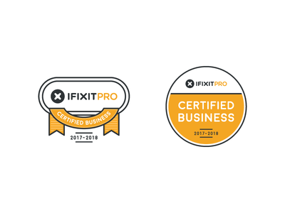 iFixit Pro - Certified Business Decal