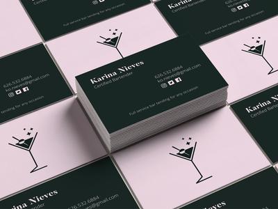 Bartender business card mockup by jc solis dribbble bartender business card mockup colourmoves
