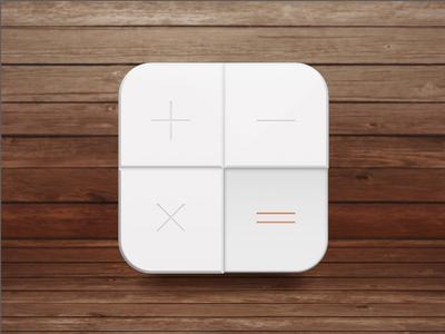 Calculator White